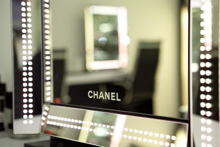 Espejo con luz para maquillaje easehold espejo para for Espejo con bombillas