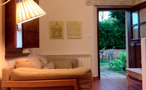 El saloncito es súper acogedor y confortable.