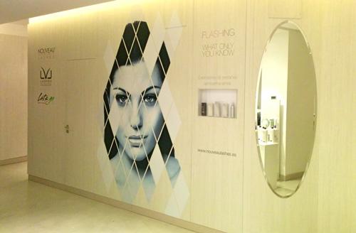 Las nuevas instalaciones del centro de Lorena Morlote (C/ Velázquez,   . Madrid) son espectaculares.