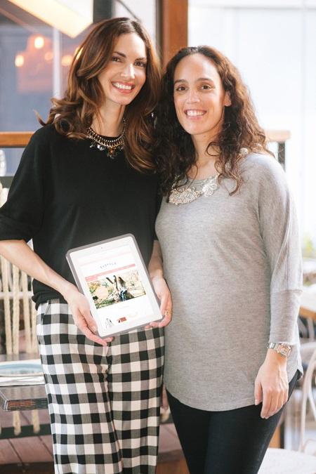 La modelo comparte aventura empresarial con su hermana, Inés Silva, con la que comparte gustos y tiene mucha complicidad.
