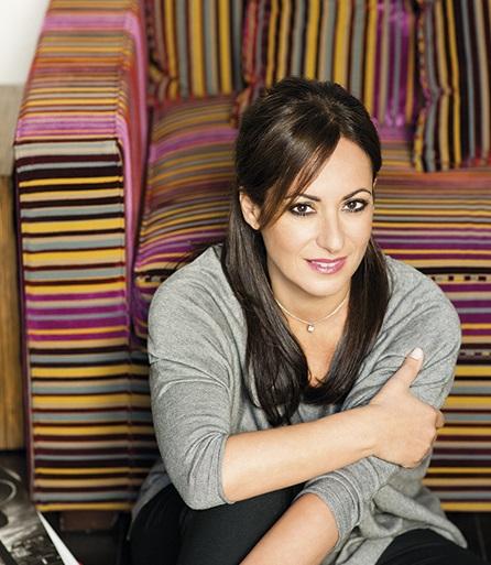 Aliza Jabès, presidenta y fundadora del grupo Nuxe.