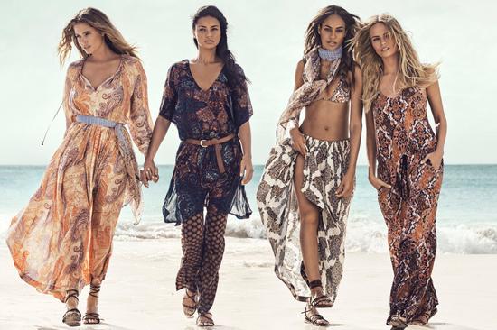 Campaña de H&M para primavera-verano 2015.