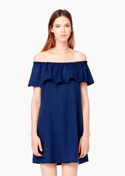 Vestido de la colección primavera-verano 2015 de Mango.