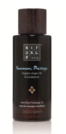 Aceite orgánico para masaje