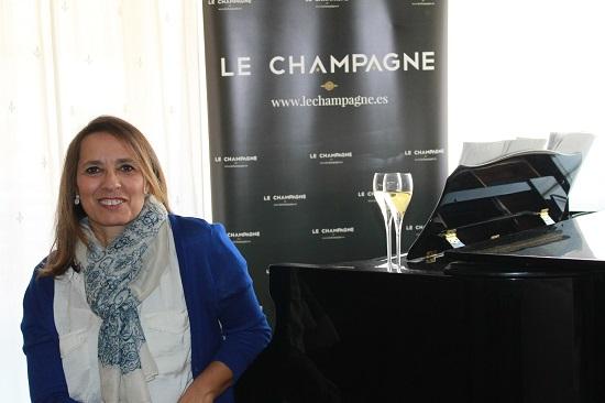 Pilar Cadarso, creadora y directora de Lechampagne.es