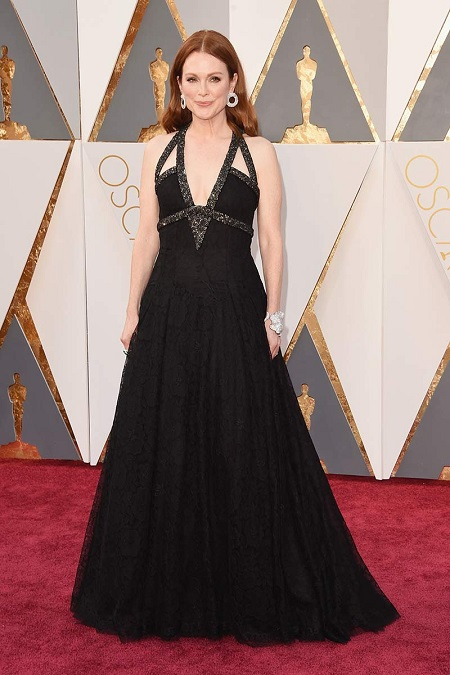 Julianne Moore de Chanel en Oscar 2016