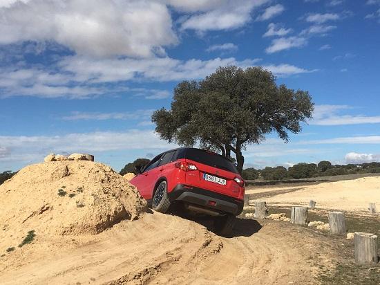 Obstáculos conducción 4x4