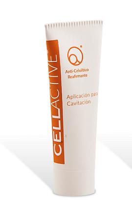 La cavitación es gratuíta por la compra de esta aplicación de CellActive Anticelulítico-Reafirmante de 20 €.