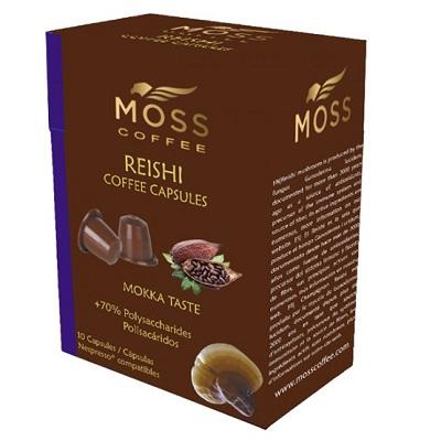 Cápsulas-MossCoffee-Café-Compatibles-Ganoderma-Reishi-Mokka