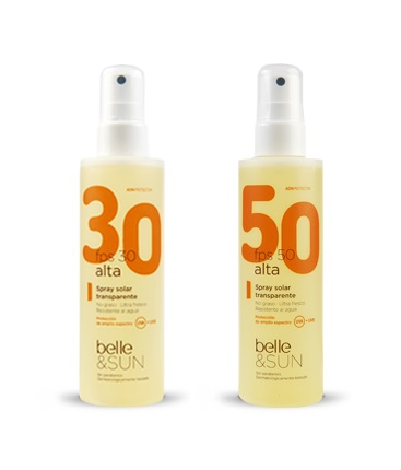 Spray transparente Belle
