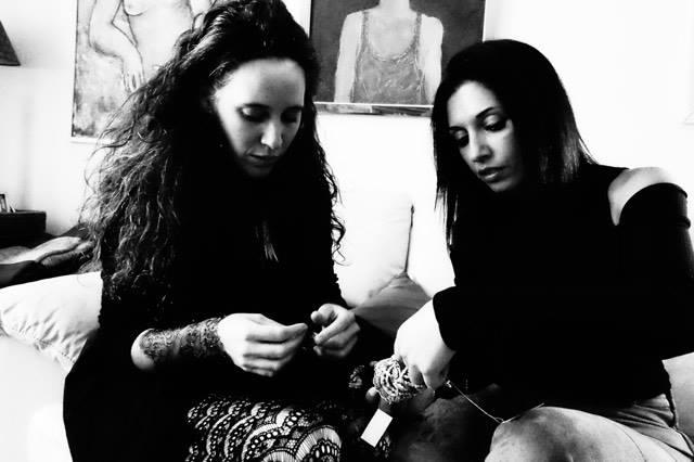Nadia y Nuria, las artífices de este precioso proyecto, forman un tándem perfecto.