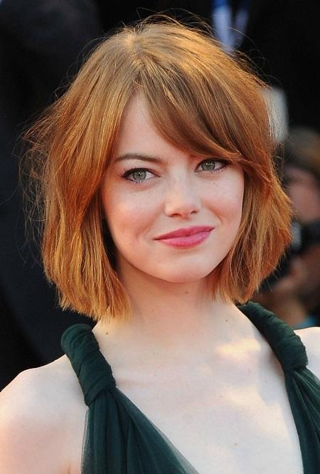 Emma Stone - Chop Haircut