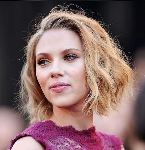 Scarlett Johansson - Shaggy Haircut