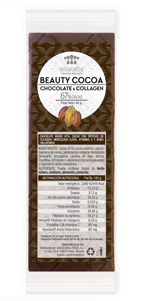Tableta Beauty Cocoa de Eiralabs