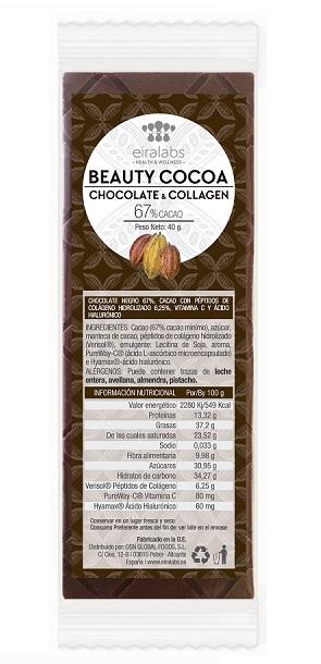 Tableta Beauty Cocoa de Eiralabs