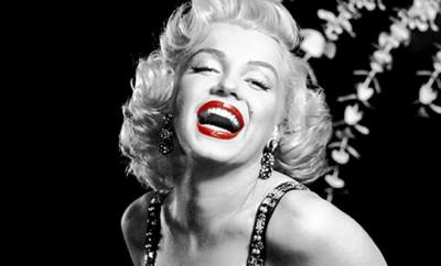 Marilyn labios rojos