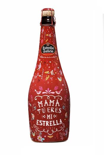 Botella Estrella Día de la Madre