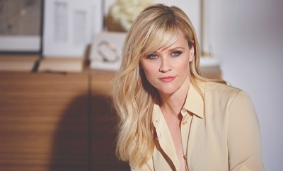 Reese Witherspoon for Elizabeth Arden BTS for Wire 2