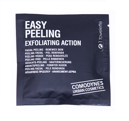 Toallitas exfoliantes Easy Peeling de Comodynes