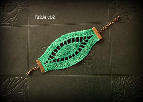 Pulsera Oxossy Verde (21,50 €)