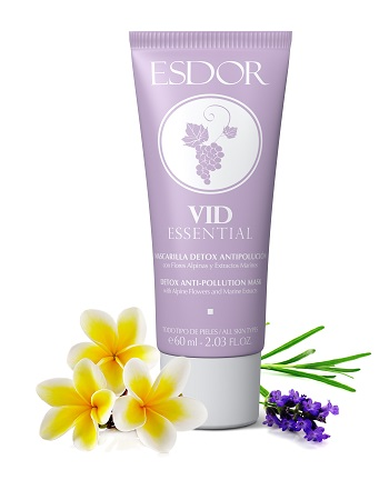 Mascarilla Detox Antipolución VID ESSENTIAL 60ml bodegón MEDIA