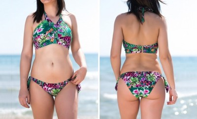 Bikini amazonas Forma V delantera