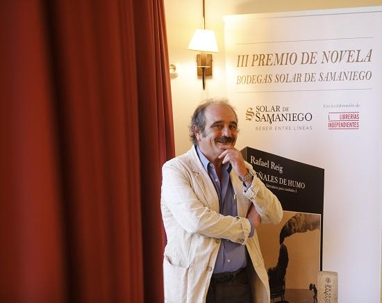 RAFAEL REIG, GANADOR DEL III PREMIO DE NOVELA SOLAR DE SAMANIEGO
