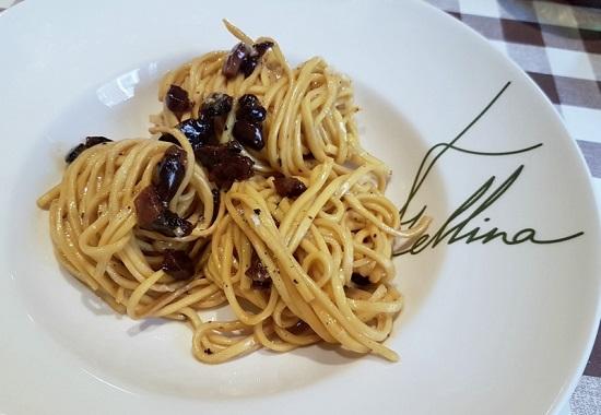 Spaguetti a la Carbonara Originale Fellina.