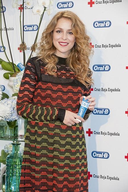 Silvia Abascal con Oral-B y Cruz Roja 2