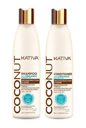 Champú y acondicionador Coconut de Kativa