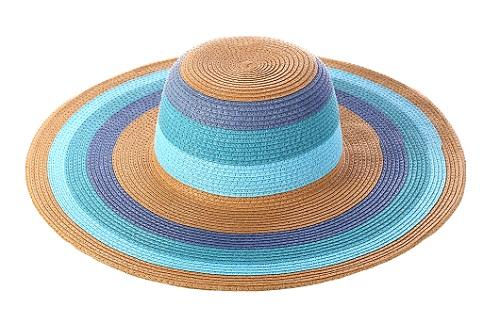 Sombrero en tonos azules (14,20 €)