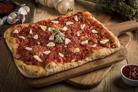 Pizza Vesubio.