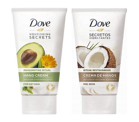 Crema de manos Dove