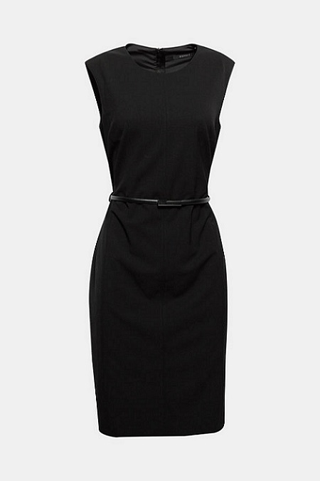 Vestido negro Esprit