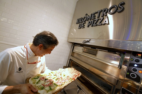 Jesús Marquina, cinco veces campeón del mundo de pizza