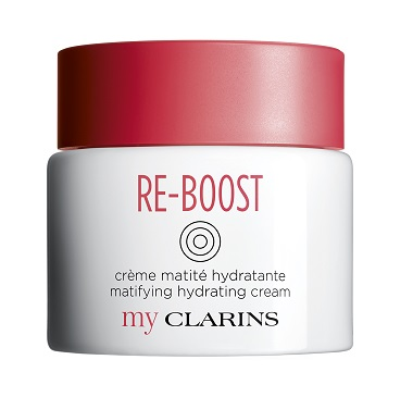 myClarins Re-Boost Crema Matificante frente