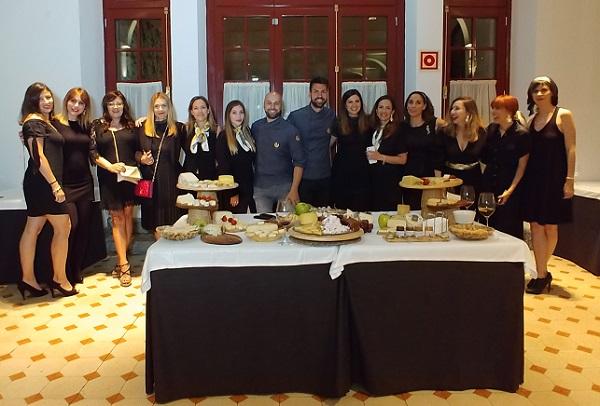 El equipo de Aitor Vega Quesos nos ofreció una cata increíble, con variedades sorprendentes.
