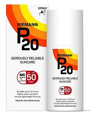 p20 spf 50