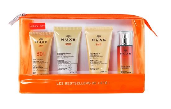Kit de viaje los best sellers del verano Nuxe