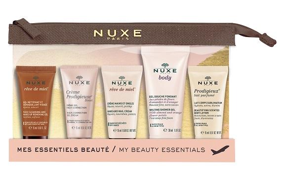 Kit de viaje mis esenciales de belleza Nuxe