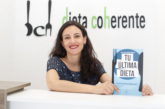 Amil López Viéitez, autora Tu última dieta