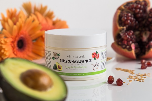 Mascarillas Alma Secret. Curly Superglow