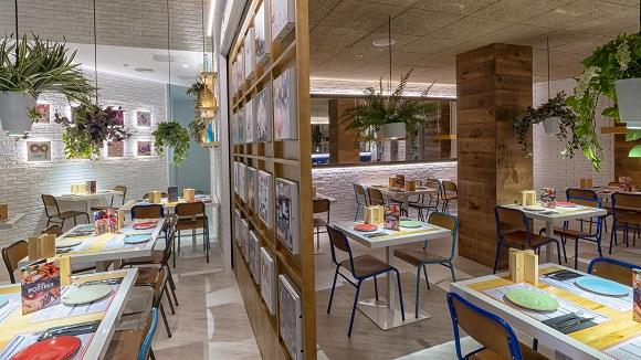 Restaurante Kilómetros de Pizza Heron Diversia