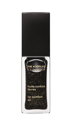 The Kooples & Clarins Huile Confort Levres black