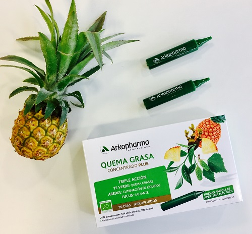 Recuperar peso-Arkofluido Quemagrasa Atrezzo