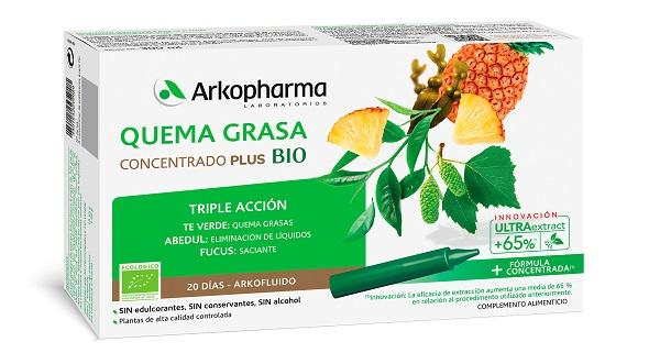 Recuperar peso Arkofluido-Quemagrasa-BIO