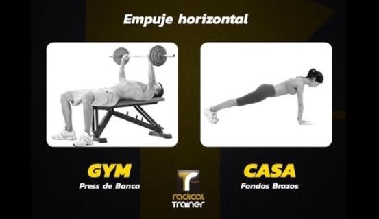 Empuje horizontal