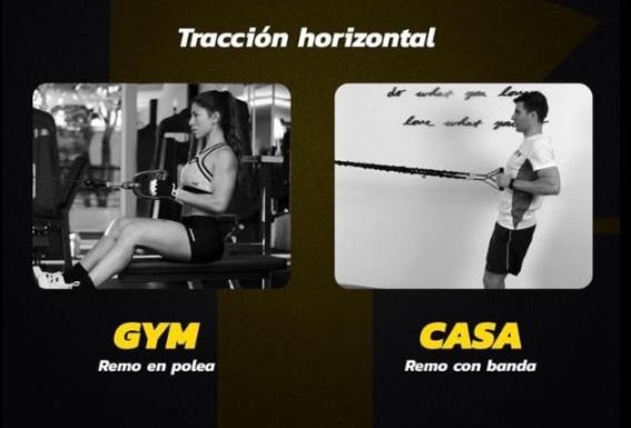 Tracción horizontal