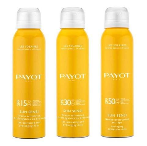 Bruma protectora antiedad con protección alta SPF 50 Payot (aerosol 125 ml)